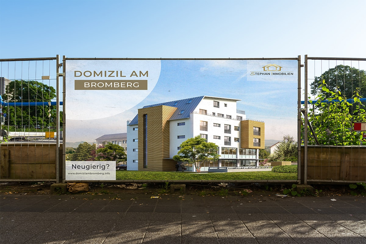 Immobilien Plakat
