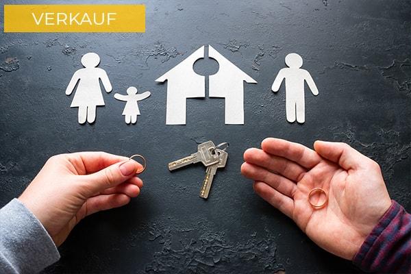 Immobilienverkauf Scheidung