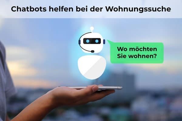 Chatbot hilft bei Wohnungssuche