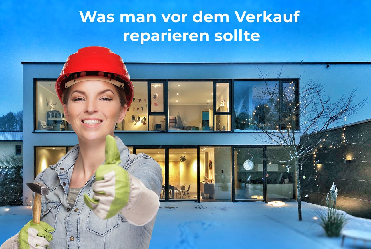 Haus reparieren