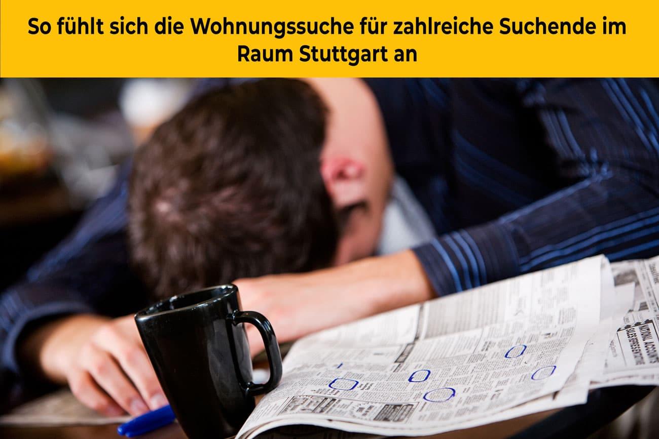 Wohnungsnot in Stuttgart: Erschreckende Zahlen | Mieter-Befragung