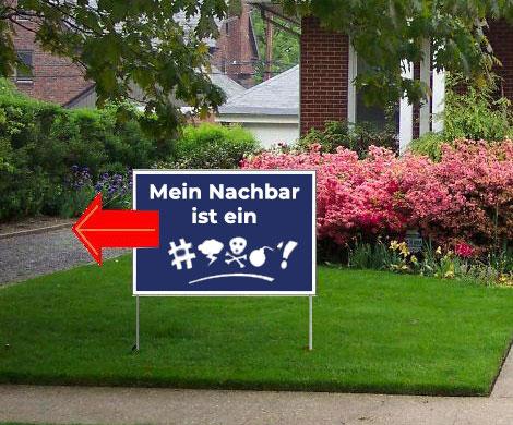 Nachbarstreit