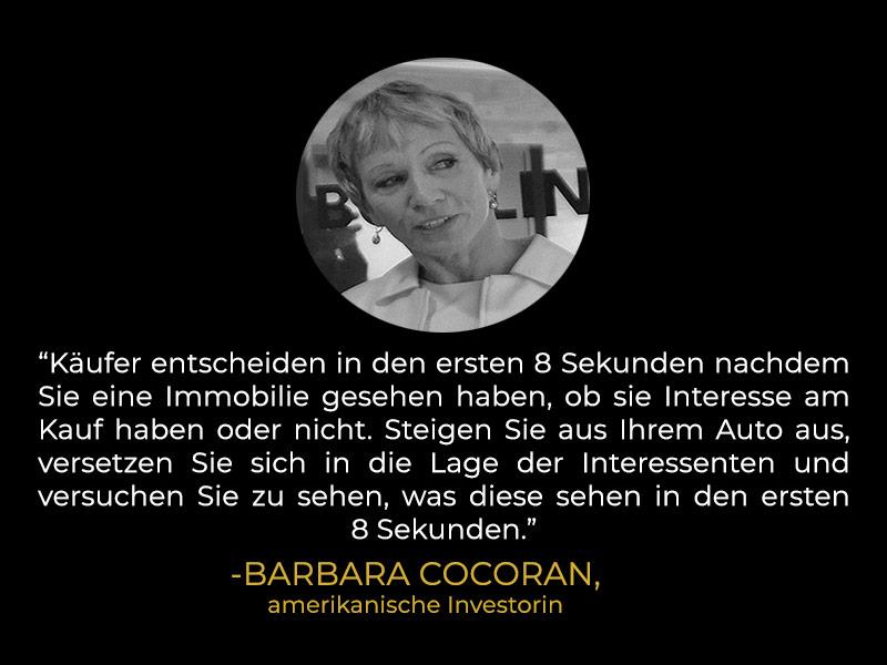 Zitat Barbara Corcoran