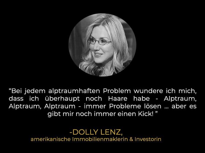 Zitat Dolly Lenz
