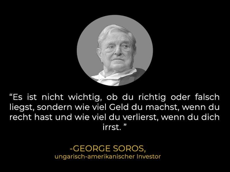 Zitat George Soros