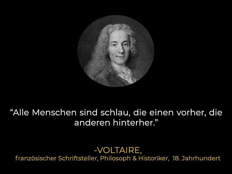 Zitat Voltaire