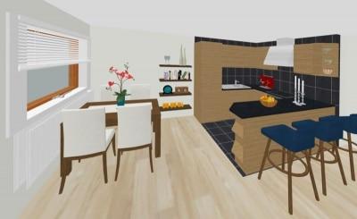 Küche-3D